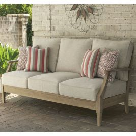 Dakota Outdoor Timber 3 Seater Lounge Daybed Sofa