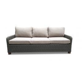 Blue Stone 3 Seater Only in Brushed Grey