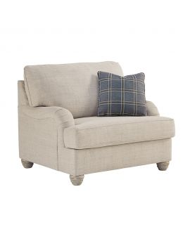 Isabelle 1 Seater Large Fabric Arm Chair